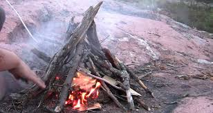 Backyard Campfire How To Plan Ahead For Backyard Camping With Kids
