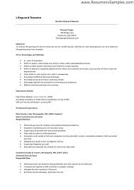 lifeguard resume sample lifeguard resume sample writing tips