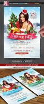 christmas party poster flyer by minkki graphicriver