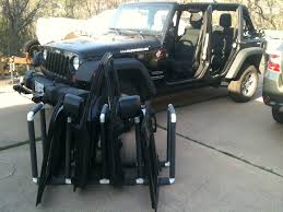 jeep wrangler 4 door rack 7 steps