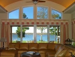 Curtains For Large Windows by Window Treatment Ideas For Large Windows Home Design Ideas