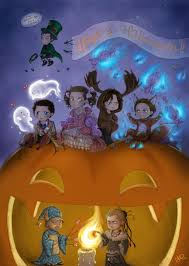 halloween art background happy supernatural halloween by nimloth87 on deviantart
