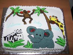 jungle baby shower cakes jungle themed baby shower cake karebearcakes