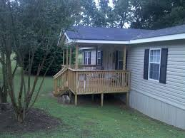 Decks With Roofs Pictures by Mobile Home Deck With Roof Deck Design And Ideas