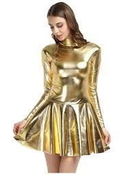 casual dress gold metallic casual dress size 8 m tradesy