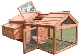 quality backyard chicken coop house with 3 5 ft run