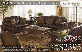Top Grain Leather Living Room Set by Leather Sets U2013 All American Mattress U0026 Furniture