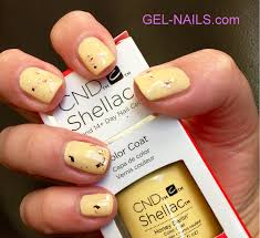 cnd shellac uv color coat gel nail polish honey darlin 91175 i