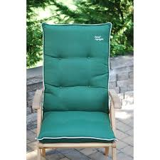 High Back Patio Chair Cushions High Back Patio Chair Cushion Set Of 2 Free Shipping Today