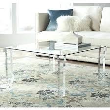 clear acrylic coffee table acrylic and glass coffee table square clear acrylic coffee table