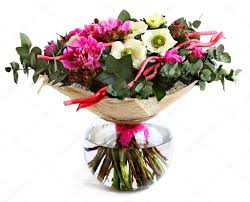 Peony Floral Arrangement by Design A Bouquet Of Pink Peonies White Poppies And Hypericum