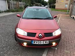 2005 renault megane 1 4 16v dynamique 5dr manual 7445775115 in