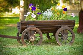 rustic wooden planter boxes interesting ideas for home