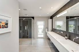 modern master bathroom ideas modern master bathroom with handheld shower slate tile in
