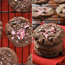 chewy double chocolate peppermint cookies minimalist baker recipes