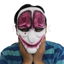 payday 2 the heist hoxton mask costume props halloween mask collection