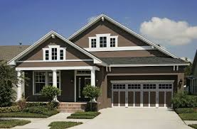 house paint color with brown roof home design ideas best