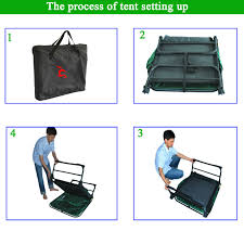 Folding Single Camping Bed Hot Sale Original Fishing Folding Single Outdoor Camping Bed Tent