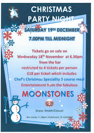 city of newcastle golf club christmas party night