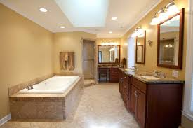 traditional master bathroom ideas decorating tv above library