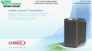 Complete Comfort Air Conditioning Lennox Xc25 Air Conditioner With Precise Comfort Technology Youtube