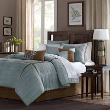 nothing says natural like this madison park dune duvet cover set the pintuck pattern and neutral color palette complement a wide variety of bedroom