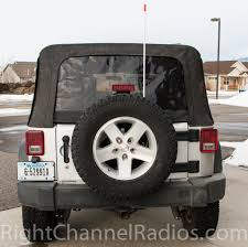 Radio Antennas For Rvs Jk Jeep Wrangler Cb Antenna Mount Right Channel Radios