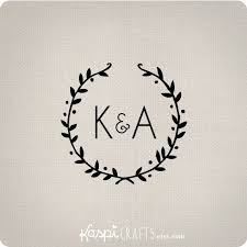 Initial Monograms The 25 Best Wedding Logos Ideas On Pinterest Wedding Stickers