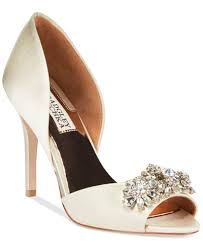 wedding shoes badgley mischka badgley mischka giana evening pumps pumps shoes macy s