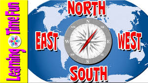 Interactive World Map For Kids by North South East West Cardinal Directions Geography For Kids