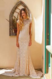 simple wedding dresses agnes cap sleeve lace wedding dress simple wedding dresses