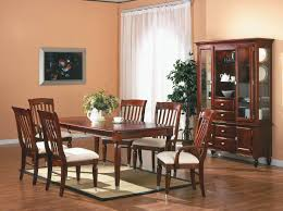 Traditional Dining Room Furniture Sets Bench An Alluring Cherry Wood Dining Room Table Sets In A Soft