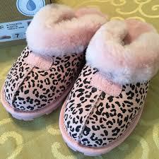 ugg slipper sale coquette 33 ugg shoes uggs pink leopard coquette rosette slipper