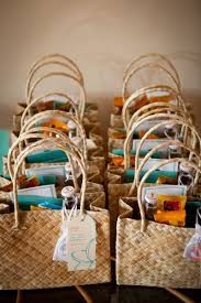 beachy wedding favors destination wedding welcome bag ideas destination wedding