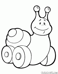 coloring page dymkovo toys