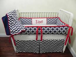 Custom Crib Bedding Sets Custom Crib Bedding Set Espen Boy Baby Bedding Navy