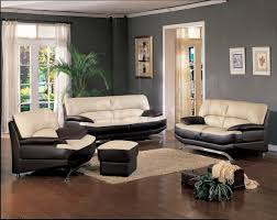 paint colors for living room with black leather furniture