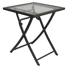 target folding patio table glass folding patio table threshold target