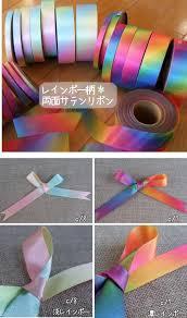 iridescent ribbon i ribbon terak rakuten global market 6332 3 mm rainbow satin