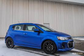 chevy sonic 2017 chevrolet sonic rs premier doubleclutch ca