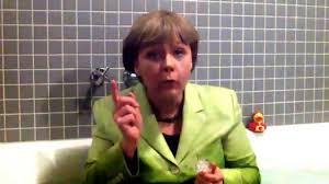 Challenge Bathtub Mutti Merkel In Der Wanne Challenge Bathtub