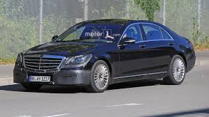 2018 mercedes s class facelift spied with several changes