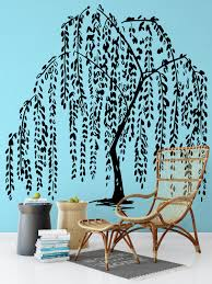 willow tree home decor willow tree wall decal sticker nature decals relaxing and