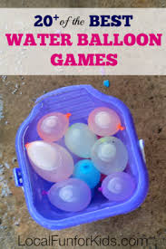 Water Bomb Challenge 20 Of The Best Water Balloon Local For