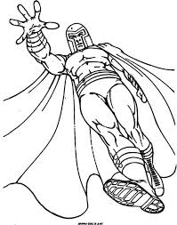 magneto enemy men members coloring pages cartoon