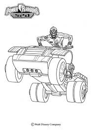 power rangers vehicle coloring pages hellokids