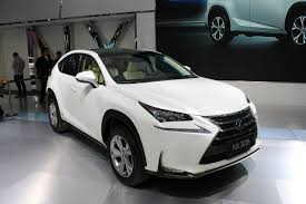 lexus nx 300h f sport 2015 lexus nx debuts in turbocharged and hybrid guise autoblog