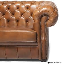 Real Chesterfield Sofa by Cook Chesterfield Sofa Rochembeau Sheepskin Leather Chesterfield