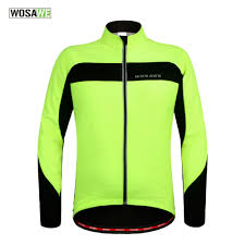 mens hi vis waterproof cycling jacket online buy wholesale winter jacket fluorescent from china winter