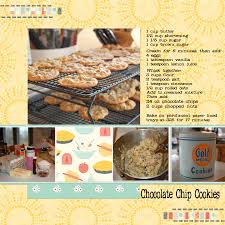 scrapbooking cuisine this was my digital recipe for the cooking up a memory at